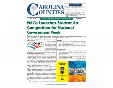 Carolina Counties Vol. 33 No. 2 (March 2021)