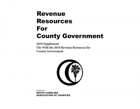 Revenue Resources for County Government - 2019 Supplement