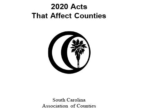 2020 Acts that Affect Counties