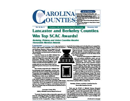 Carolina Counties Vol. 32 No. 5 (November 2020)