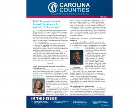 Carolina Counties (July 2021)