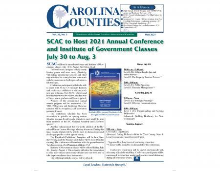 Carolina Counties Vol. 33 No. 3 (May 2021)
