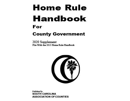 Home Rule Handbook for County Government - 2020 Supplement