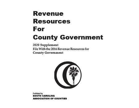 Revenue Resources for County Government - 2020 Supplement