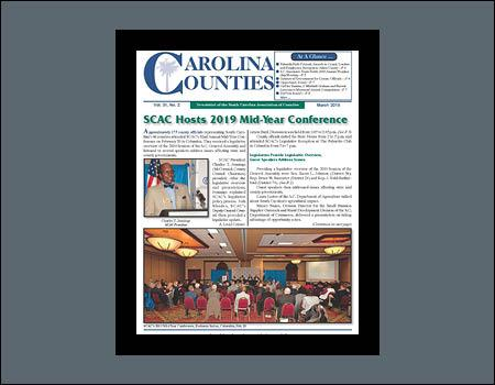 Vol. 31 No. 2 (March 2019) Carolina Counties Newsletter