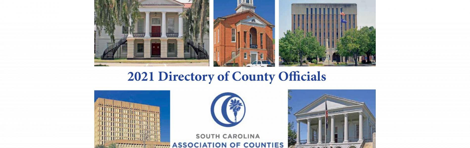directory cover featuring county courthouses